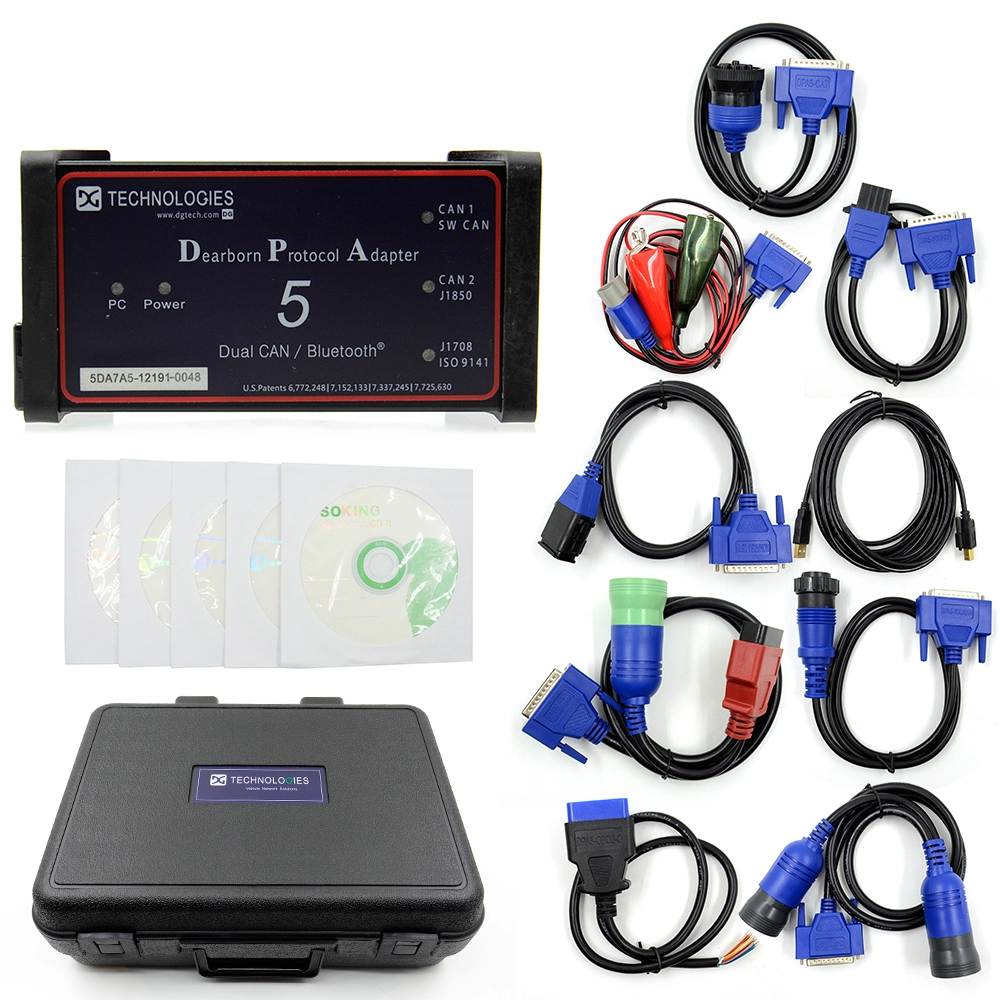 Newest Dpa5 Dearborn Protocol Adapter 5 Heavy Duty Truck With Bluetooth Dpa 5 Heavy Duty Truck Diagnostic Scanner Dpa5