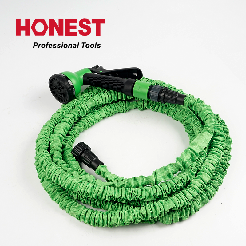 50ft/15 meter long Flexible High Pressure wash car water latex expand hose for big garden