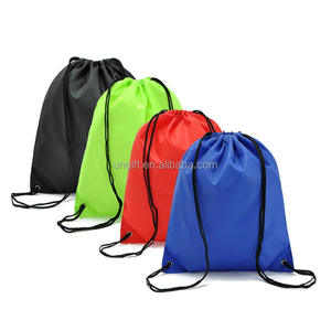 Customised Waterpoof Most Popular Hot sale Promotional Polyester Non-woven large small Drawstring Bag
