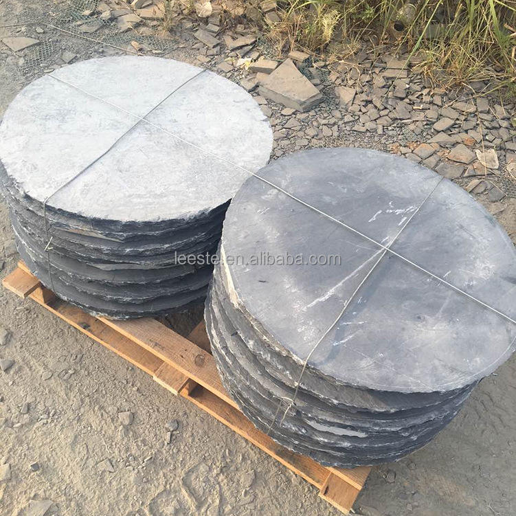 Multiple Colour Round Rustic Wholesale Yellow Black Slate Paving Stones