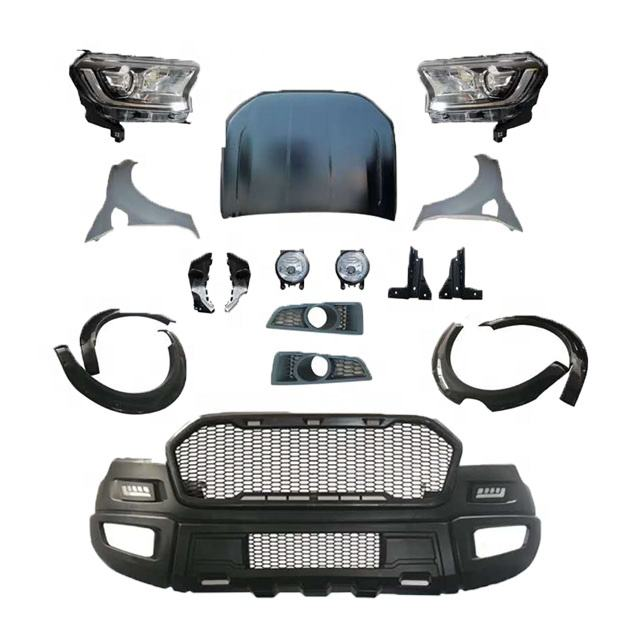 Hot Sale Parts Front Bumper Body Kit Accessories For Ford Ranger Raptor T6 2012