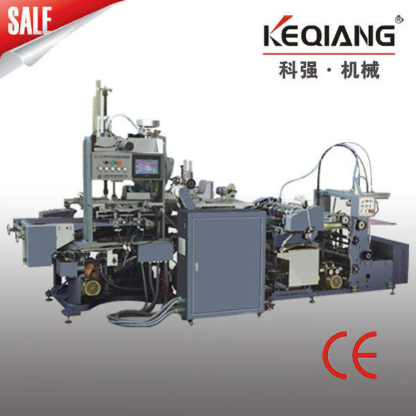 ZK-320 Automatic Box Machine W/O Angle Pasting