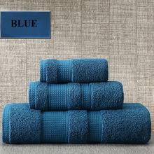 U-HomeTalk UT-TJ162 Luxury Hotel 100% Cotton Bath Towel/16s Full Hotel Towel Set White Cream Blue Green Fancy Bath Face Towels