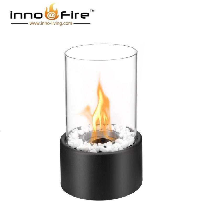 Inno living fire TT-15 small gel fuel fire pits garden chimney