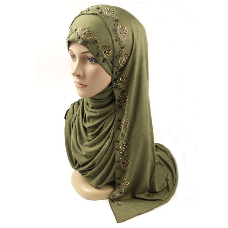 Timett New design fashion jersey cotton hijab for scarf women