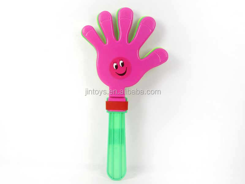 Promotional toys big hand bat plastic cheering hand clap toy
