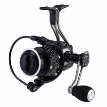 IM1000 5.1:1 12+1 Bb Iron Man Spinning Fishing Gear All Metal Materials Saltwater Spinning Casting Fishing Reel