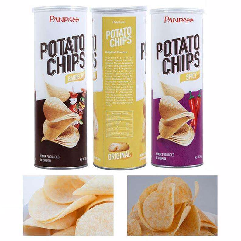 Spicy Panpan Low Salt Sweet Canned Potato Chip