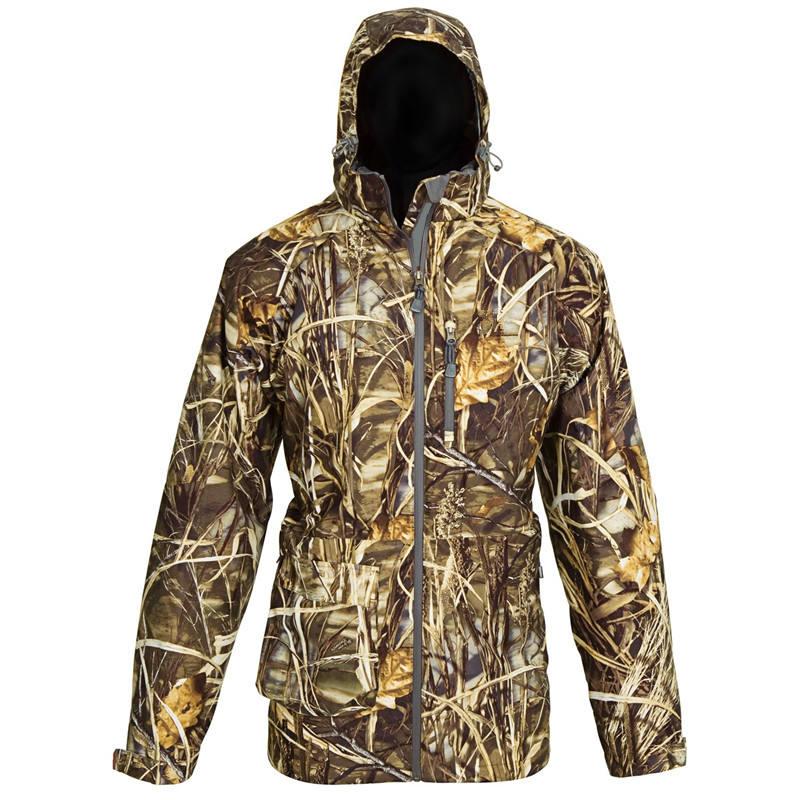 3 in 1 esterno caldo impermeabile mens caccia parka giacca