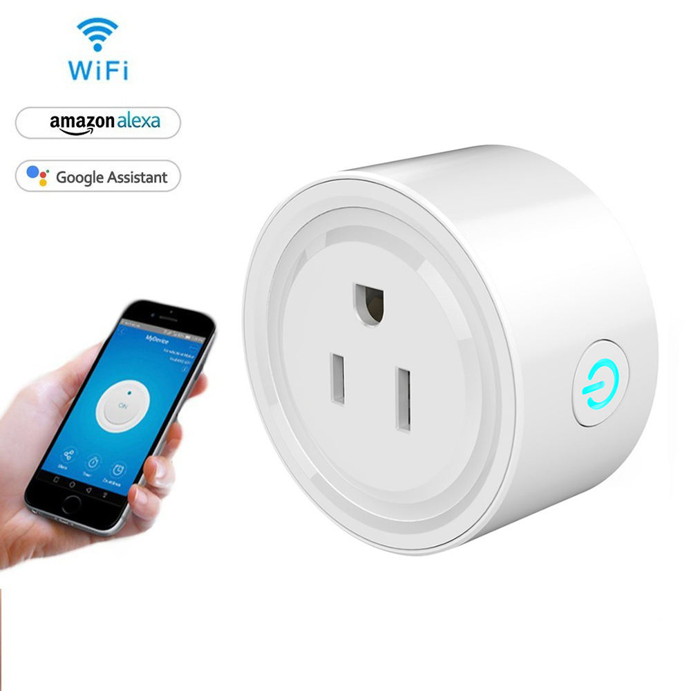 Tuya Wifi Smart Plug Afstandsbediening Plug Smart Elektrische Plug Wifi Smart Socket Outlet Mini Wifi Smart Plug