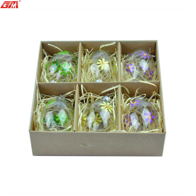 Glass Easter Eggs Clear Glass Easter Eggs For Easter Gifts