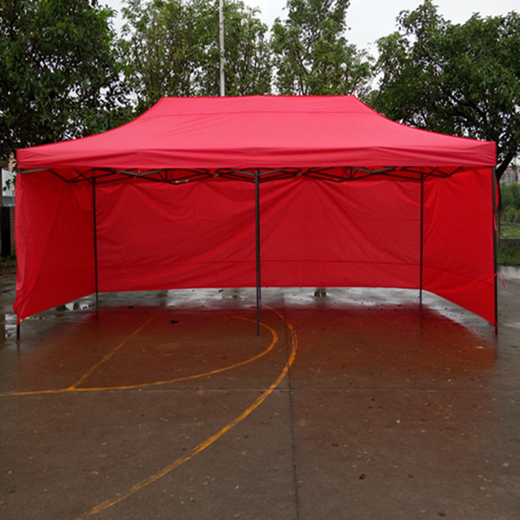 high quality pop up canopy tent 3x6 steel advertising folding tent