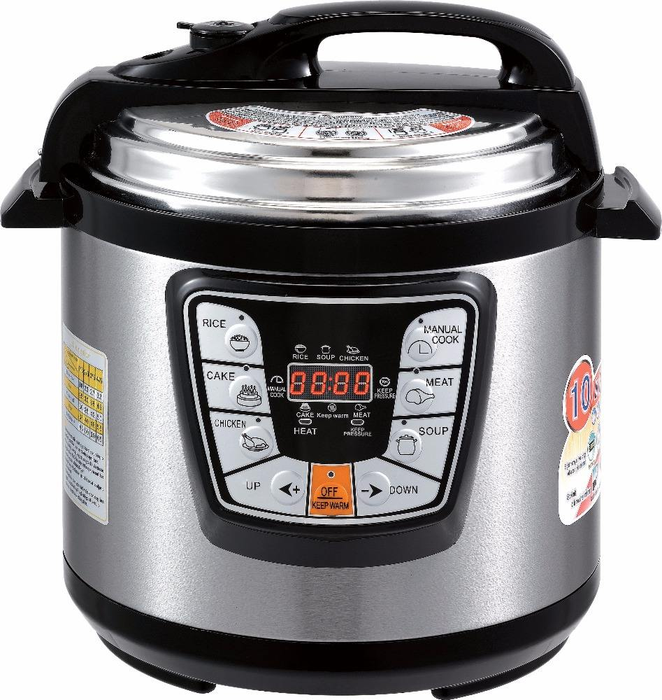 6L 6 Quart Multi Instant Functie Pot Rvs 8 In 1 Snelkookpan