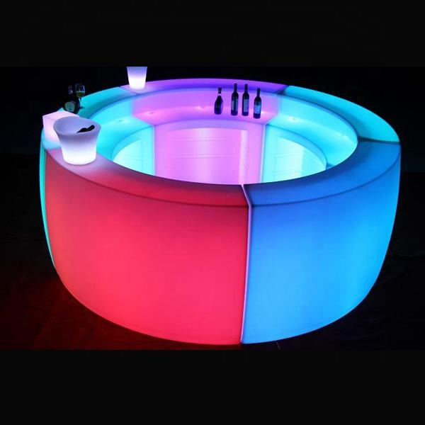Nightclub furniture Use illuminated led bar counter Wi-Fi bar counter