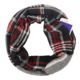 China high quality Tartan acrylic Scarf Multicolor Plaid Infinity Scarf