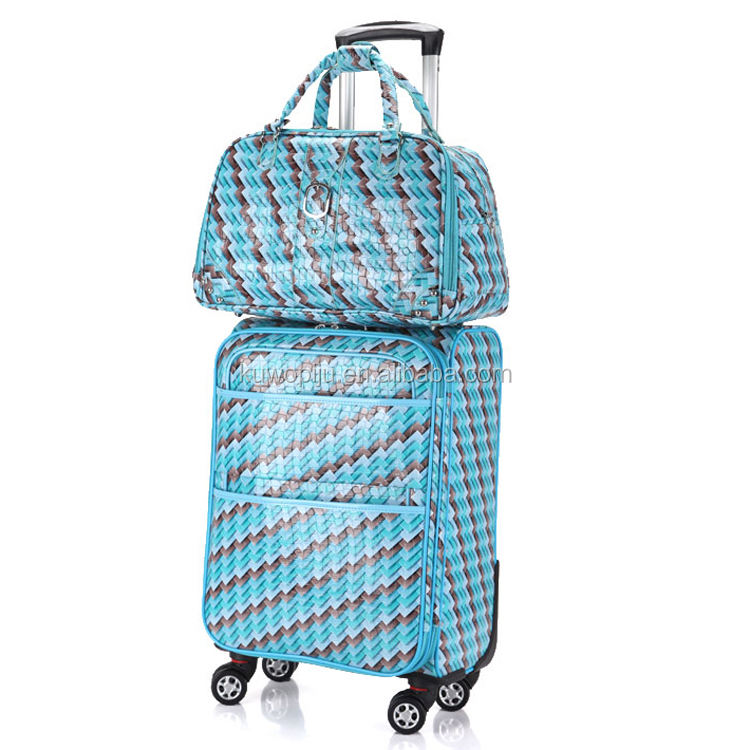 Travel Select Navy Amsterdam 2pc Carry-on Expandable Rolling Luggage Suitcase Set