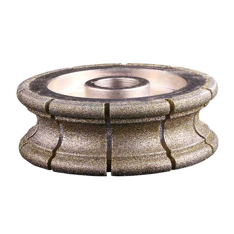 Electroplated Profile Wheel Diamond grinding wheel for stone