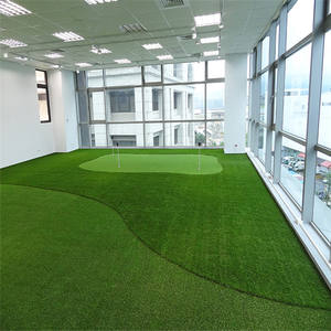 Soccer Sport Artificial Grass Carpets For Football Stadium