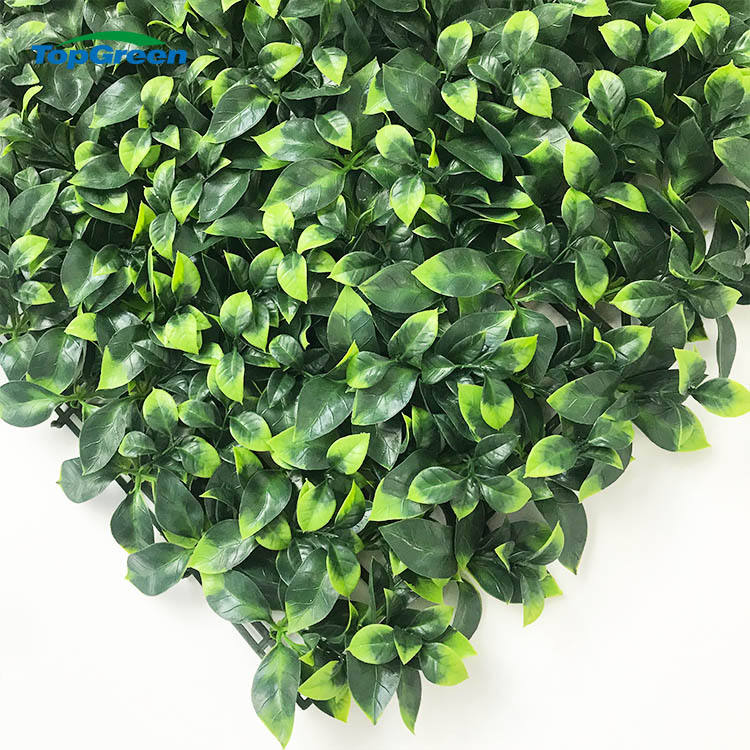 eco-friendly Wall decorative artifical foliage wall grass