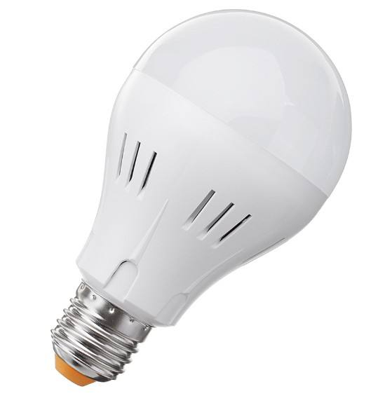 5W E27 B22 Intelligent motion sensor battery powered automatic led light bulb with Inbuilt battery back up