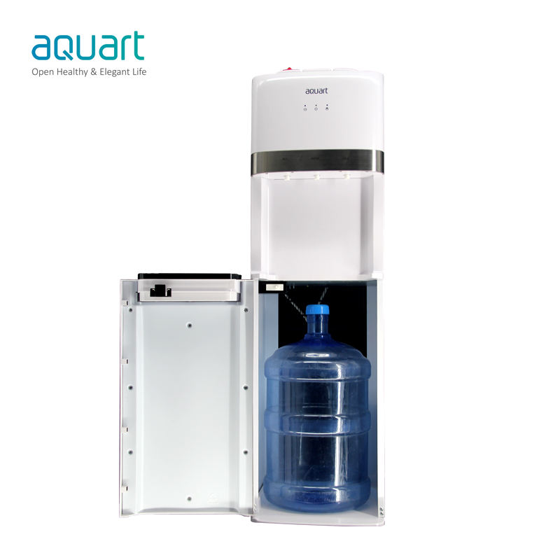 Compressor Cooling Bottom Loading Water Dispenser Hot And Cold Water Dispenser With Safety Lock Water Cooling