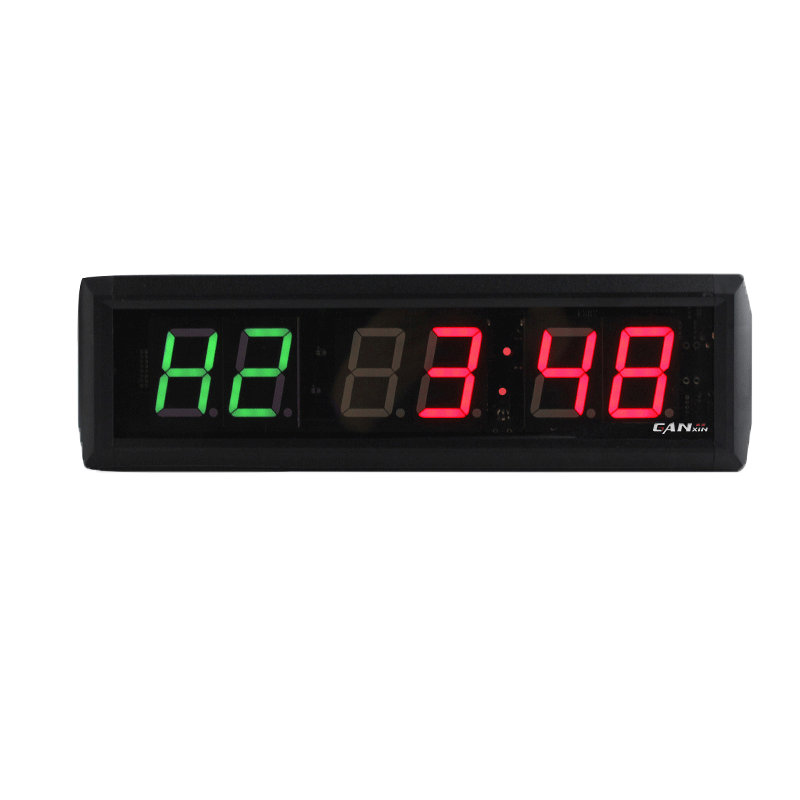[Ganxin] Countdown Delivery Digital Clock 6 Digit Exercise School Wall 7 Segment Led Prompt Fitness Custom Durable Timer