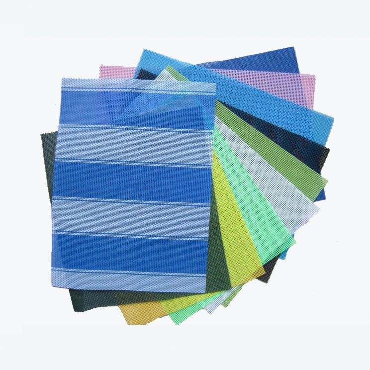공장 OEM design pvc mesh 야외 fabric PET 타 포린 fabric pvc coated polyester mesh fabric