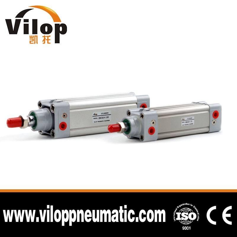 OEM Doppelt Wirkenden Pneumatikzylinder Festo Typ ISO 6432 Standard Dnc Pneumatikzylinder