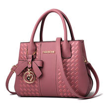 2020 ladies hand bags handbag bow casual generous personality trend simple sweet wild portable handbag