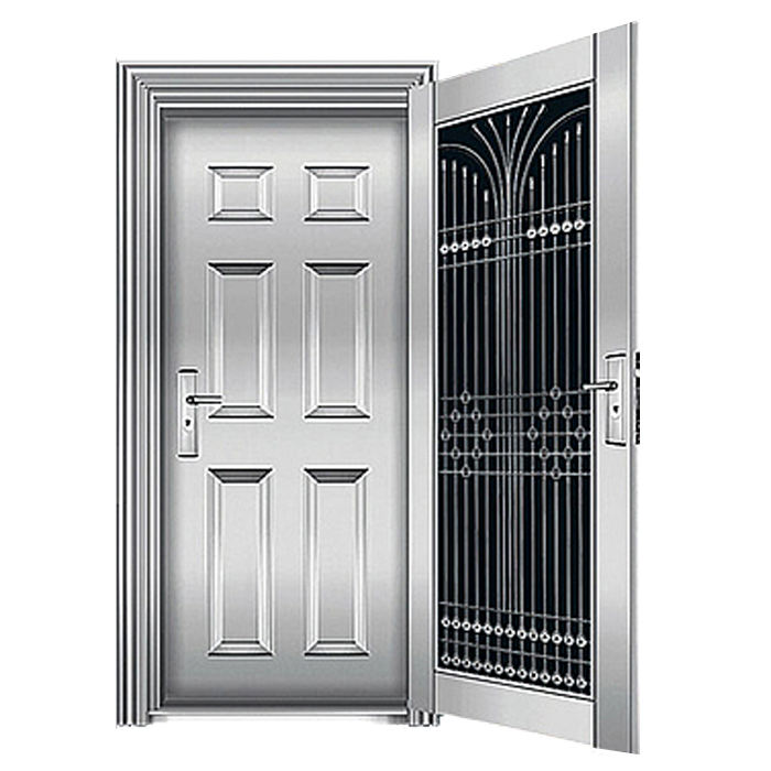 apartment stainless steel front 48 inches exterior doors bulletproof door with new design