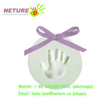 air dry modeling super light clay baby imprint clay