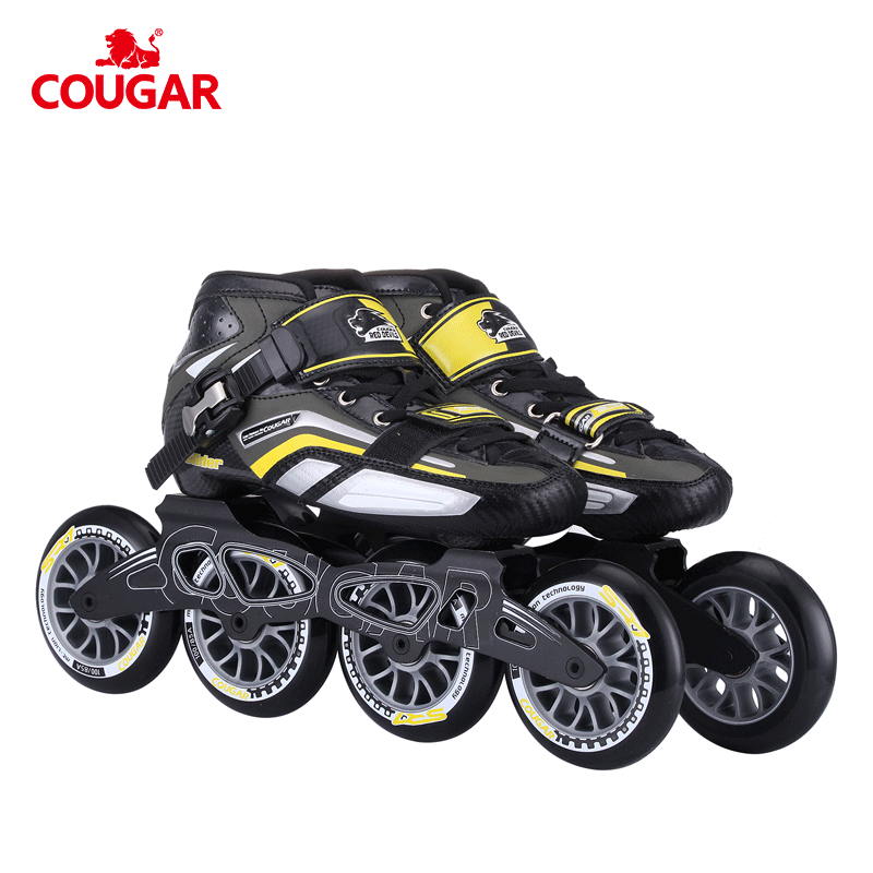 Big power 110mm wheels cougar professional inline skate speed