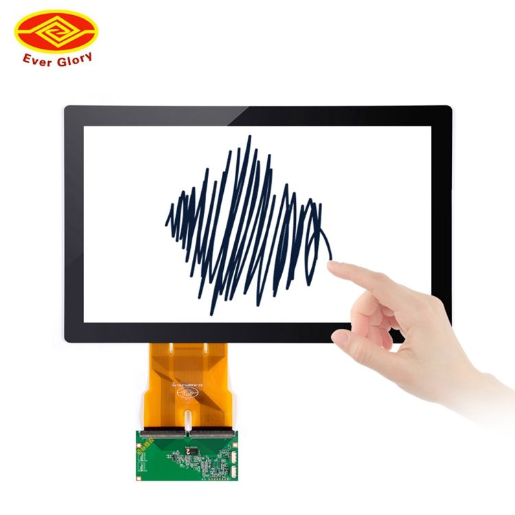 Beste Marke Industrie Panel Pc 15,6 Monitor D Sub Touch Screen Monitore Tisch