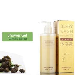275ml private label best organic body wash shower gel