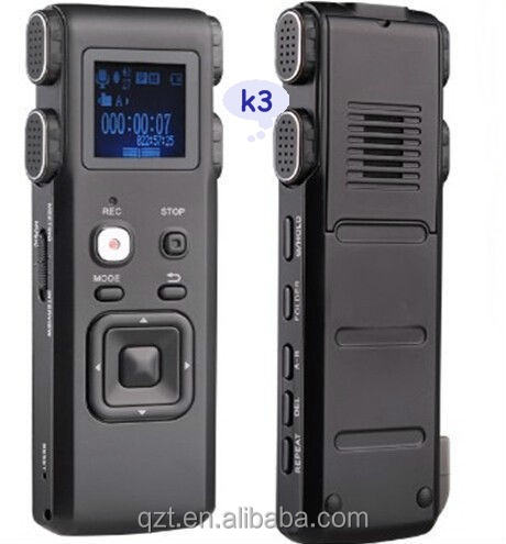 Professionale Digital Audio Recorder Registratore Vocale Portatile 4G/8G Dittafono Multi-funzione Lettore MP3 A Lunga Distanza registrazione