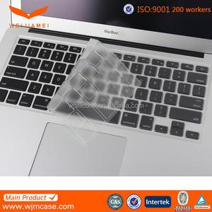 부드러운 유연한 실리콘 보호 불투명 빈 노트북 맥북 키보드 커버 제조업체