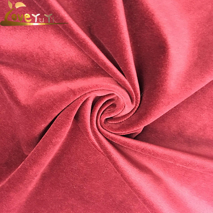2018 High Quality New Design Warp Knitted German Velvet Fabric For Sofa