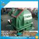 Tree cutting machine crushing roots /branches /logs