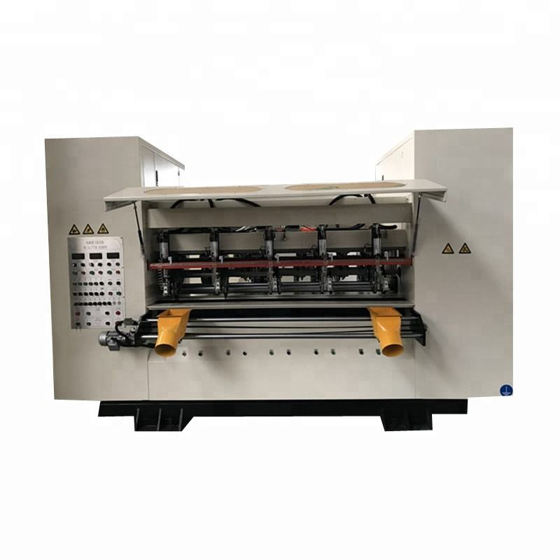 High Speed Online Slitter Scorer Machine For High Quality Corrugated Line