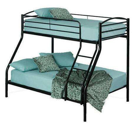 School Bunk Bed for Dormitory set metal tube single and double bed in Silver Gray powder coated for school bedroom furniture