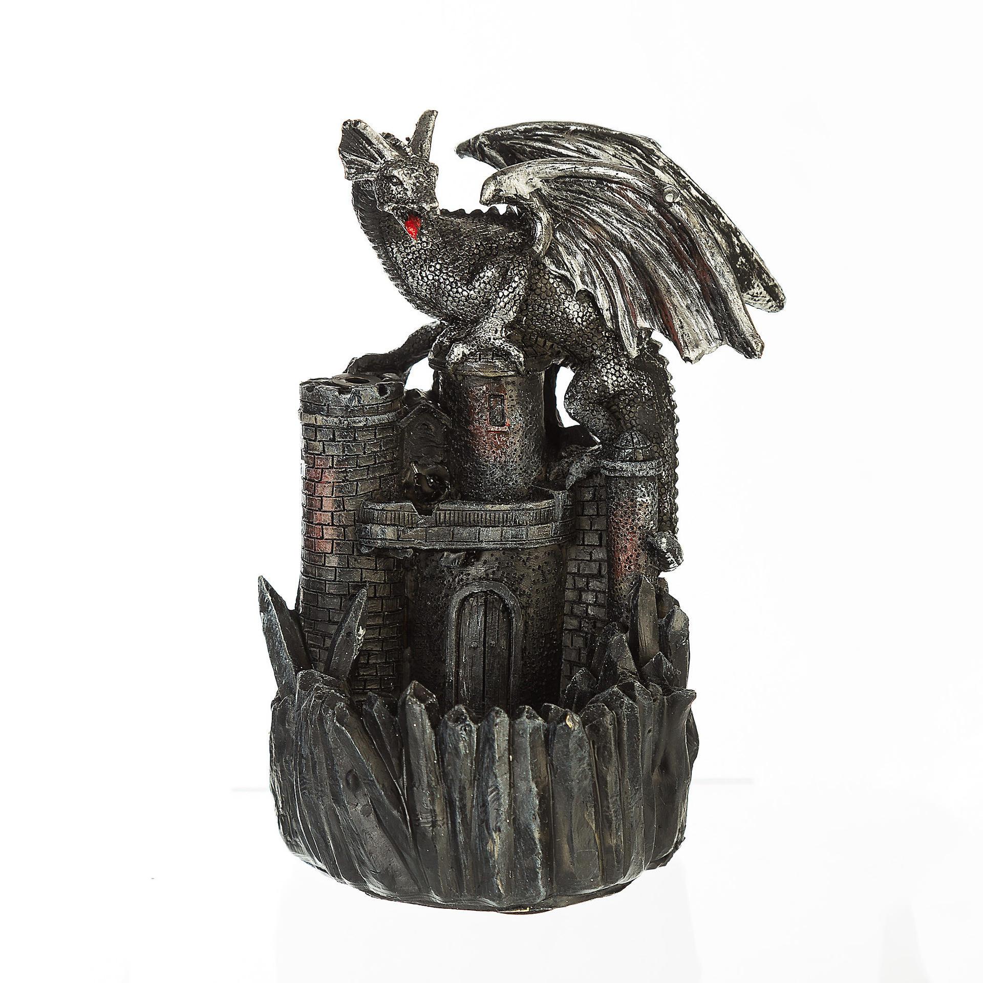 Expulsión de humo con forma de dragón quemador de incienso de cerámica casa Decoración