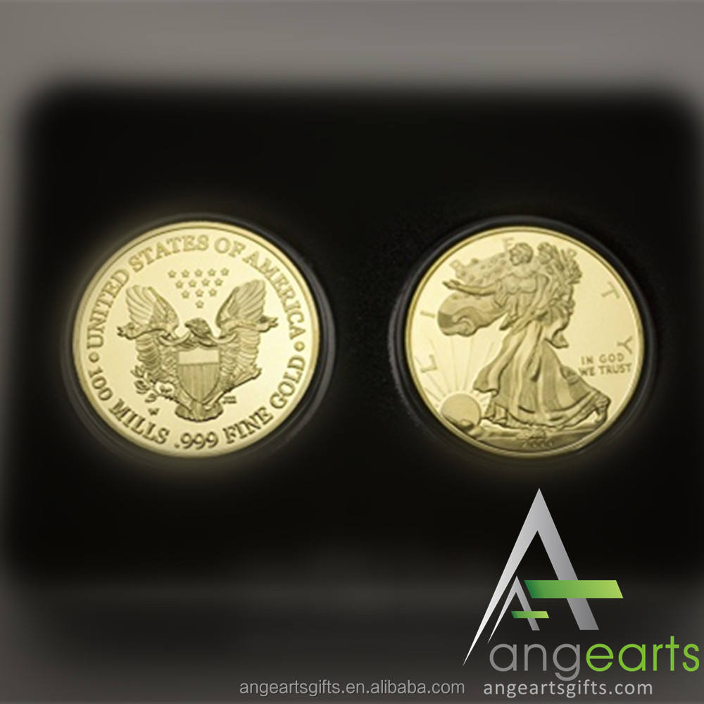 United States of America Twenty Dollars In God we trust Gold eagle coins