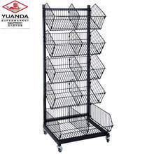 Supermarket/Store/Shop Wire Hanging Basket Display Rack for Sale
