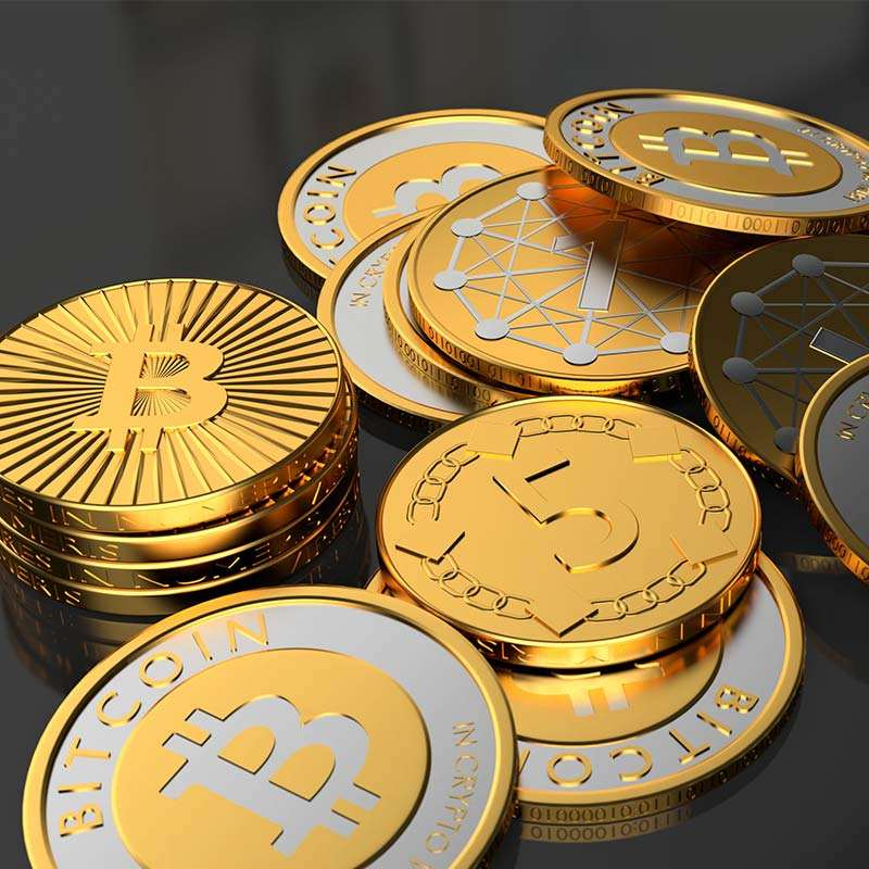 High quality custom gold coin Factory wholesale hot selling souvenir bitcoin coins