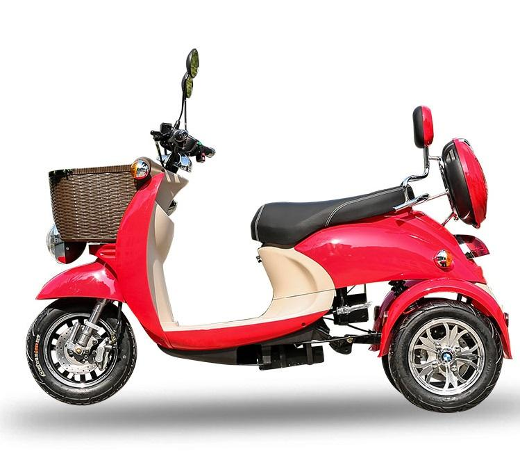 2020 New 1000ワットPower Adult 3 Wheel Scooter Electric Tricycle大人のための/高齢者