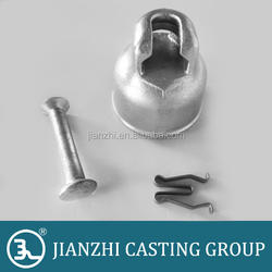 Ball and Socket Type Metallic Fittings for 10 Inch Disc Insulator