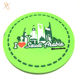 China factory 2d pvc rubber drink coasters exporter