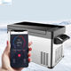 CeeinAuto Big Capacity Cooler In-Car Refrigerator Bluetooth APP Car Fridge DC12V/24V Camping Freezer auto fridge