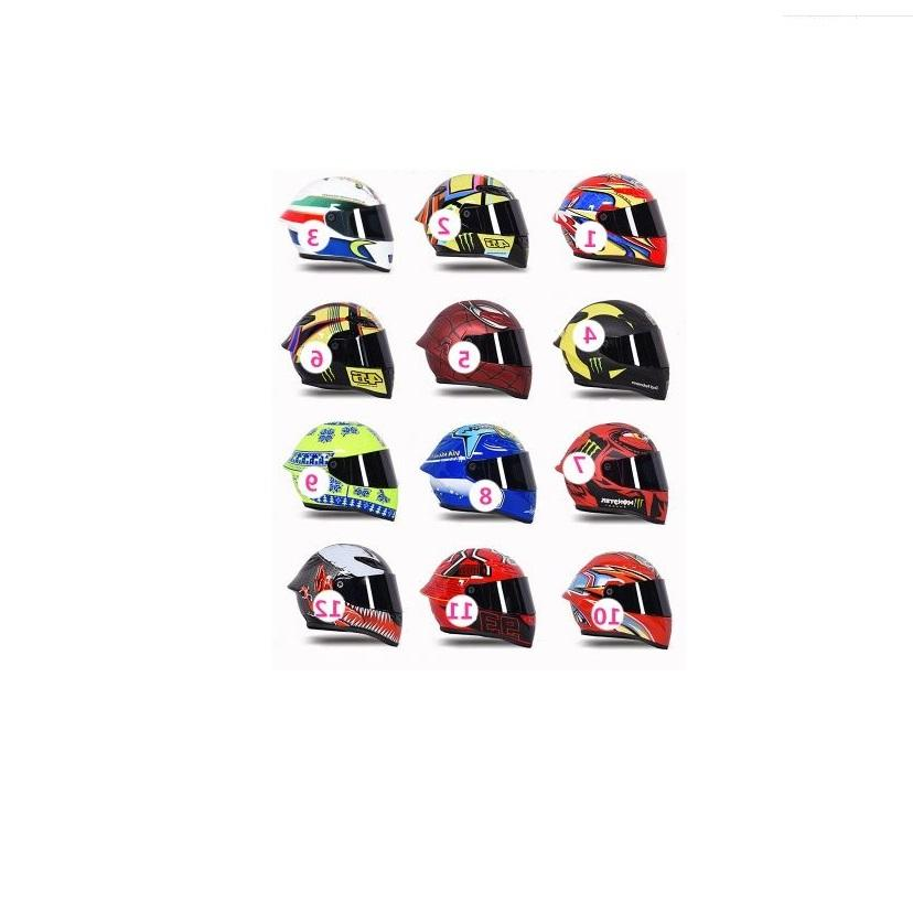 13cm*13cm*16cm custom made motorcycle car racing miniature mini gift small helmet