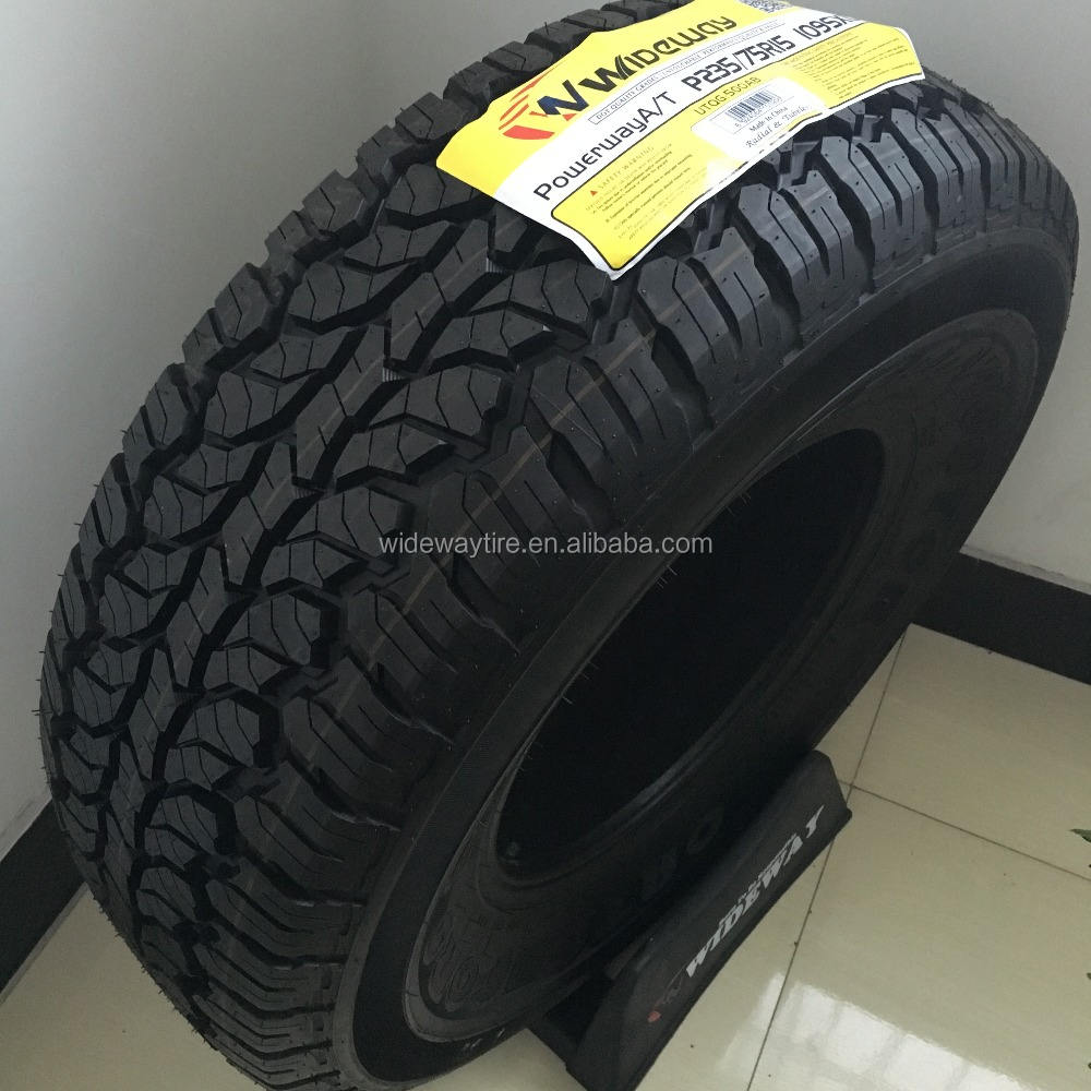 Powerway A/T different certificates LT car tires